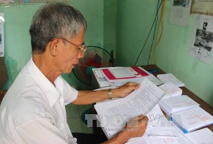 1 24861 - Người viết hơn 40.000 lá thư báo tin cho thân nhân Liệt sĩ