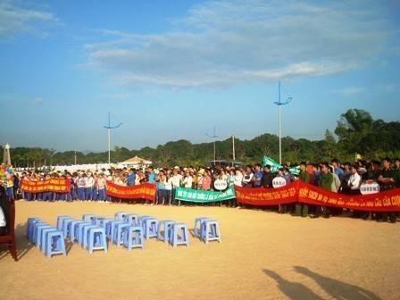images dsc09552 - Ngày hội thanh niên hành động vì môi trường