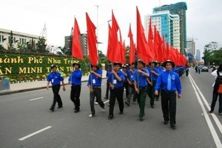 images dieuhanh dieu hanh 2632011 2 - Lễ kỷ niệm 80 năm thành lập Đoàn TNCS Hồ Chí Minh và tuyên dương 80 Bí thư cơ sở Đoàn xuất  sắc