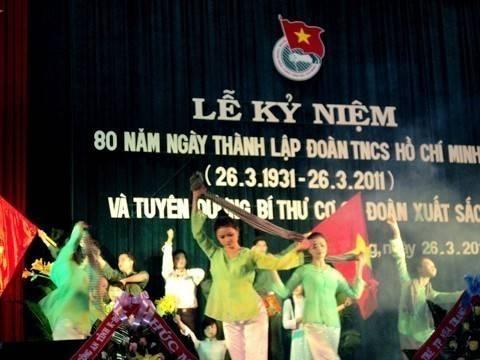 images hoitrai2011 DSC00191 - Lễ kỷ niệm 80 năm thành lập Đoàn TNCS Hồ Chí Minh và tuyên dương 80 Bí thư cơ sở Đoàn xuất  sắc