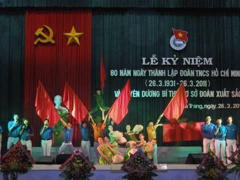 images lekyniem80nam hoat canh truyen thong - Lễ kỷ niệm 80 năm thành lập Đoàn TNCS Hồ Chí Minh và tuyên dương 80 Bí thư cơ sở Đoàn xuất  sắc