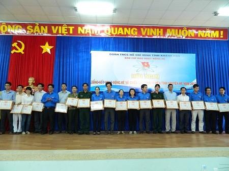 Tổng kết hoạt động hè và chiến dịch thanh niên tình nguyện hè năm 2012: Khen thưởng 31 tập thể và 48 cá nhân xuất sắc