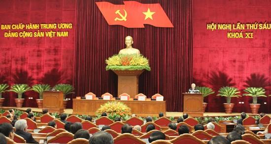 tong20bi20thu20doc20be20mac - Toàn văn thông báo của Hội nghị Trung ương 6, khóa XI