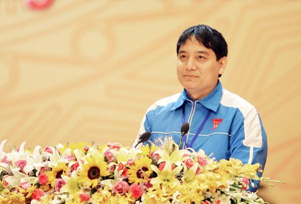 0016AnhVinhPhatbieu28229 1 - Đồng chí Nguyễn Đắc Vinh tái đắc cử Bí thư thứ nhất Ban chấp hành Trung ương Đoàn khóa X
