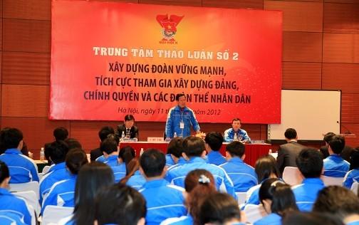 2.128129 1 - Toàn cảnh 10 trung tâm thảo luận Đại hội đại biểu Đoàn TNCS Hồ Chí Minh toàn quốc lần thứ X