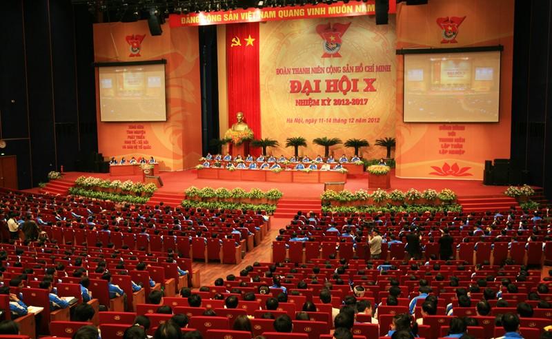 257toancanh 1 - Phiên thứ nhất Đại hội đại biểu Đoàn TNCS Hồ Chí Minh toàn quốc lần thứ X
