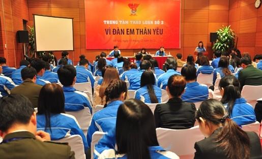 3 1 1 - Toàn cảnh 10 trung tâm thảo luận Đại hội đại biểu Đoàn TNCS Hồ Chí Minh toàn quốc lần thứ X