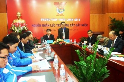 5 1 1 - Toàn cảnh 10 trung tâm thảo luận Đại hội đại biểu Đoàn TNCS Hồ Chí Minh toàn quốc lần thứ X