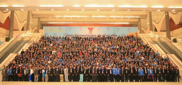 999daibieu 1 - Bức ảnh kỷ lục 999 gương mặt đại biểu dự Đại hội Đoàn X