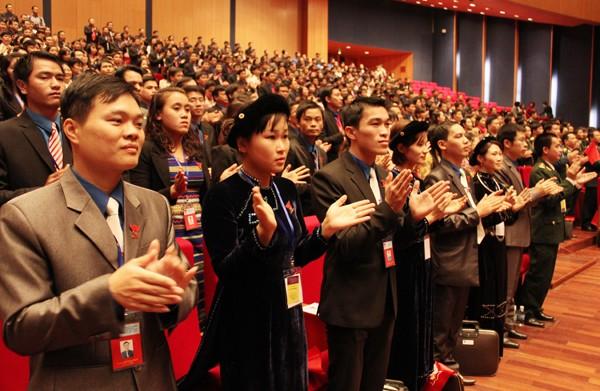 IMG 8298 1 - Đại hội Đoàn toàn quốc chính thức khai mạc