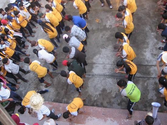 """Lễ khánh thành """"Nhà thanh niên"""" của trường THPT Trần Hưng Đạo - Cam Ranh nhân kỷ niệm 82 năm ngày thành lập Đoàn TNCS Hồ Chí Minh"""