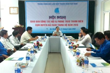 cumduyenhai - Giao ban công tác Hội và phong trào TN cụm Tây Nguyên và cụm Duyên hải Nam Trung Bộ năm 2013