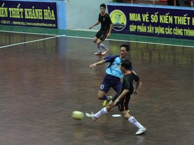Khai mạc giải bóng đá Futsal - Cúp Sanna lần thứ V