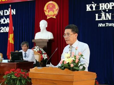 Khai mạc kỳ họp chuyên đề lần thứ nhất HĐND tỉnh Khánh Hòa (khóa V)