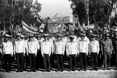 Lễ mít-tinh phản đối Trung quốc dùng vũ lực đánh chiếm Gạc Ma tháng 3-1988,