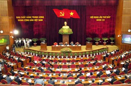 images838197  DSC6350 1 - Khai mạc Hội nghị lần thứ 7 Ban Chấp hành Trung ương Đảng khóa XI