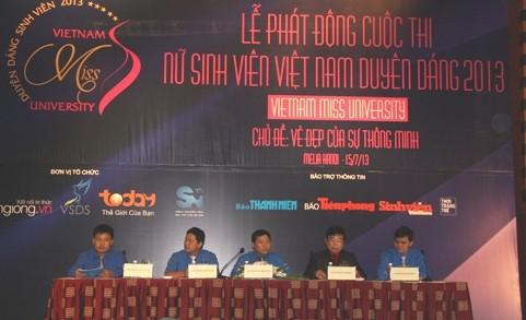 IMG 6716 1 - Phát động Cuộc thi Nữ sinh viên Việt Nam duyên dáng 2013