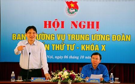 AVinhphatbieu 1 - Hội nghị Ban Thường vụ Trung ương Đoàn lần thứ IV, khóa X