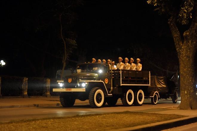 Dien tap - Lễ quốc tang Đại tướng Võ Nguyên Giáp