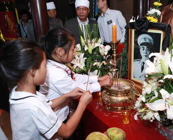 Le Thuy 2 2 - Lễ quốc tang Đại tướng Võ Nguyên Giáp