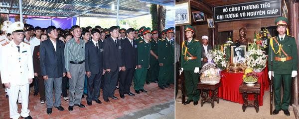 Le Thuy 3 - Lễ quốc tang Đại tướng Võ Nguyên Giáp