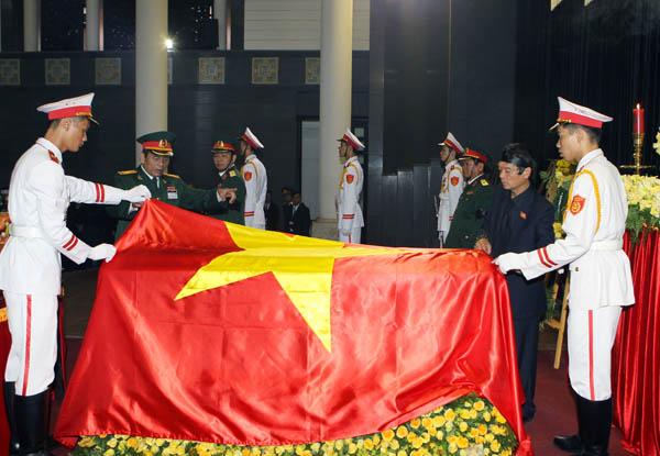 Linh cuu Dai tuong Vo Nguyen Giap - Lễ quốc tang Đại tướng Võ Nguyên Giáp