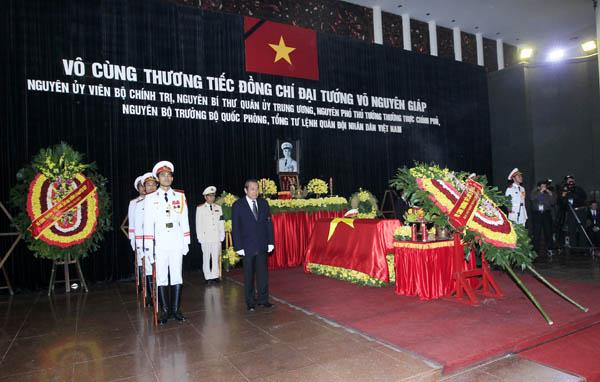 Linh cuu - Lễ quốc tang Đại tướng Võ Nguyên Giáp