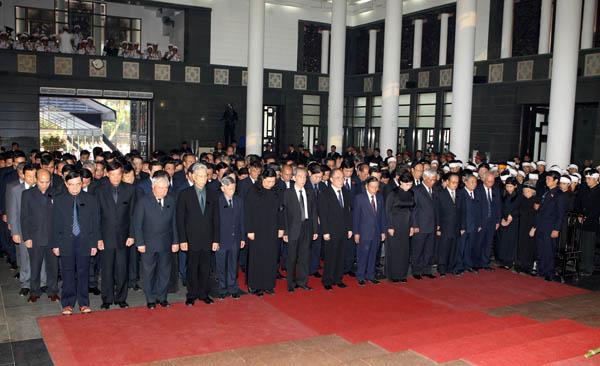 Nguyen Sinh Hung - Lễ quốc tang Đại tướng Võ Nguyên Giáp