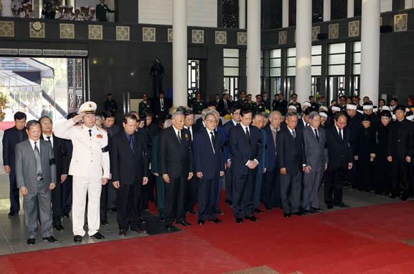 Nguyen Tan Dung - Lễ quốc tang Đại tướng Võ Nguyên Giáp
