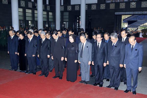 Truong Tan Sang - Lễ quốc tang Đại tướng Võ Nguyên Giáp
