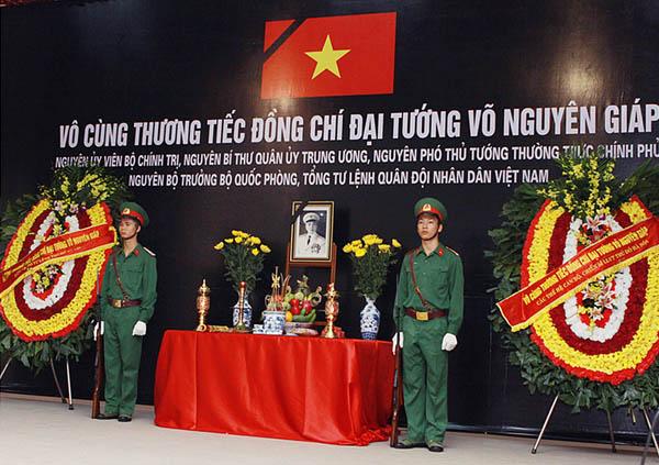 Vo cung thuong tiec - Lễ quốc tang Đại tướng Võ Nguyên Giáp
