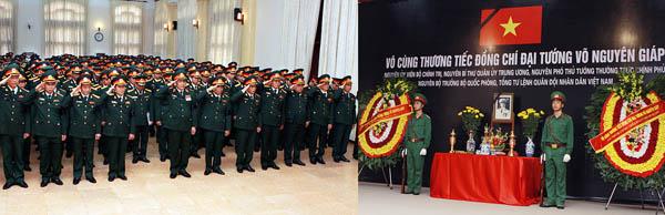 Vu trang - Lễ quốc tang Đại tướng Võ Nguyên Giáp