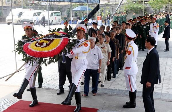 can ve 1 - Lễ quốc tang Đại tướng Võ Nguyên Giáp