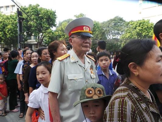 dat 1 - Lễ quốc tang Đại tướng Võ Nguyên Giáp