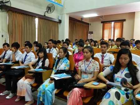 images dh hsv 2013 2 - Đại hội Hội Sinh viên Việt Nam tỉnh Khánh Hòa lần thứ II, nhiệm kỳ 2013 - 2018, phiên thứ nhất