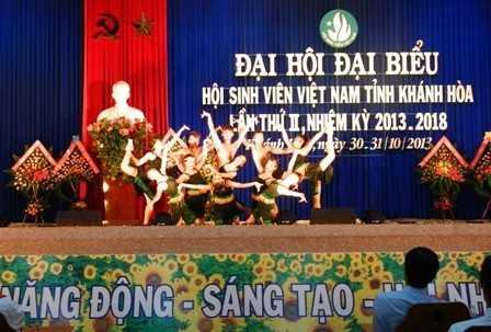 images dh hsv 2013 26 - Đồng chí Nguyễn Văn Nhuận được tái chọn cử giữ chức danh Chủ tịch Hội Sinh viên Việt Nam tỉnh Khánh Hòa khóa II (2013 - 2018)