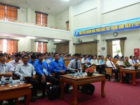 images dh hsv 2013 28 - Đồng chí Nguyễn Văn Nhuận được tái chọn cử giữ chức danh Chủ tịch Hội Sinh viên Việt Nam tỉnh Khánh Hòa khóa II (2013 - 2018)