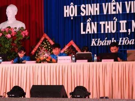 images dh hsv 2013 32 - Đồng chí Nguyễn Văn Nhuận được tái chọn cử giữ chức danh Chủ tịch Hội Sinh viên Việt Nam tỉnh Khánh Hòa khóa II (2013 - 2018)