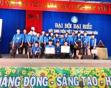images dh hsv 2013 43 - Đồng chí Nguyễn Văn Nhuận được tái chọn cử giữ chức danh Chủ tịch Hội Sinh viên Việt Nam tỉnh Khánh Hòa khóa II (2013 - 2018)