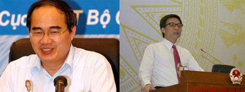 quoc hoi 1 - Chính phủ đề xuất bổ nhiệm hai Phó Thủ tướng mới