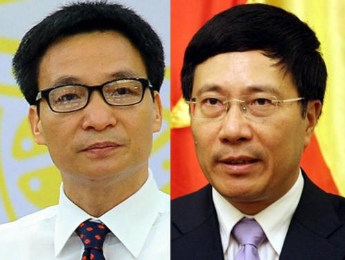 22020pho20thu20tuong202 1 - Chính thức có 2 tân Phó Thủ tướng Chính phủ