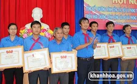 Khánh Hòa:  286 đơn vị được công nhận Liên đội vững mạnh