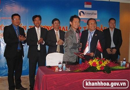 Anh20120IMG 2440 1 - Hội Doanh nhân trẻ Khánh Hòa: Xúc tiến thương mại tại Singapore