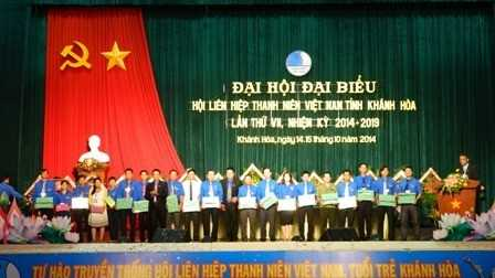 images di hoi hlhtnvn tinh lan thu 7 10 74d22 - Đại hội Đại biểu Hội Liên hiệp thanh niên Việt Nam tỉnh Khánh Hòa lần thứ VII, nhiệm kỳ 2014 - 2019