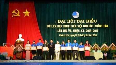 images di hoi hlhtnvn tinh lan thu 7 14 db4dd - Đại hội Đại biểu Hội Liên hiệp thanh niên Việt Nam tỉnh Khánh Hòa lần thứ VII, nhiệm kỳ 2014 - 2019