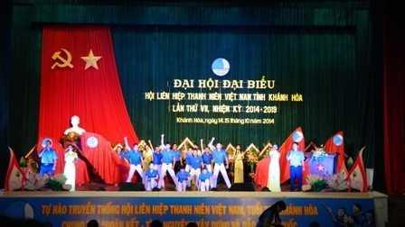 images di hoi hlhtnvn tinh lan thu 7 1 eceb7 - Đại hội Đại biểu Hội Liên hiệp thanh niên Việt Nam tỉnh Khánh Hòa lần thứ VII, nhiệm kỳ 2014 - 2019