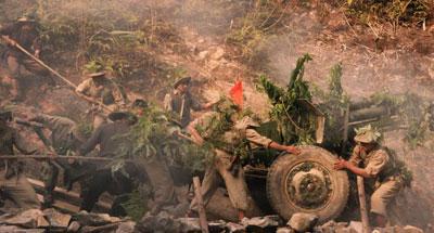 images1063294 C nh k p ph o trong phim    ng l n  i n Bi n 1 - Chiến thắng Điện Biên Phủ dưới góc nhìn điện ảnh