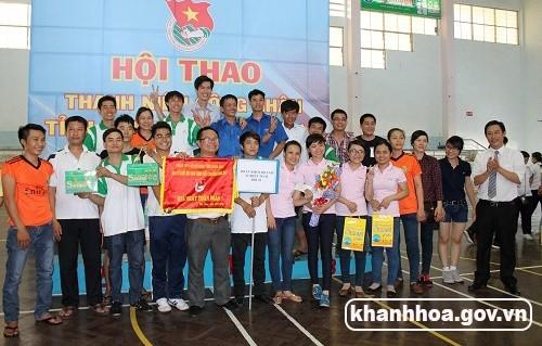 Hội thao thanh niên công nhân năm 2015: Đội 3 Đoàn Khối Doanh nghiệp tỉnh đạt giải nhất