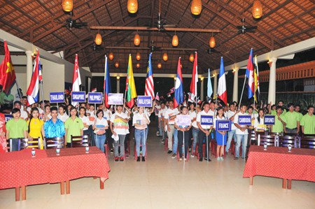 Hội trại có sự tham gia của 11 tiểu trại.