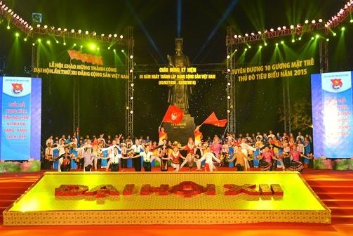 DSC 3520 1 - Lễ hội Tuổi trẻ chào mừng thành công Đại hội lần thứ XII của Đảng; kỷ niệm 86 năm Ngày thành lập Đảng Cộng sản Việt Nam
